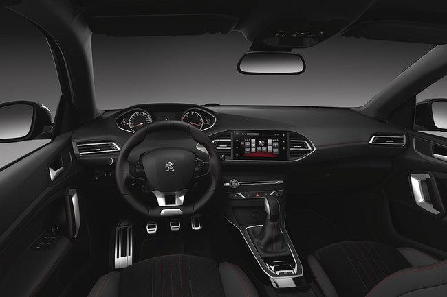Peugeot 308 GT Line 2015 interior 01
