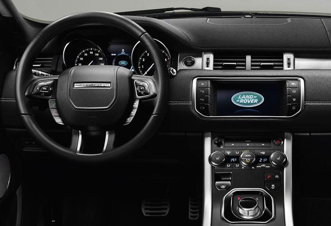 Range Rover Evoque 2016 interior 03