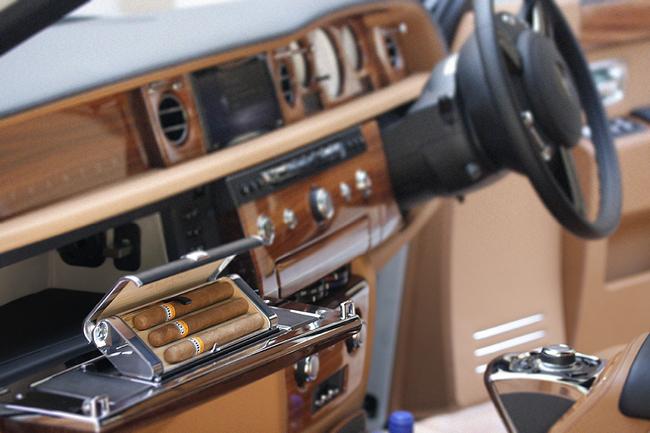 Rolls Royce Phantom Series II humidificador puros