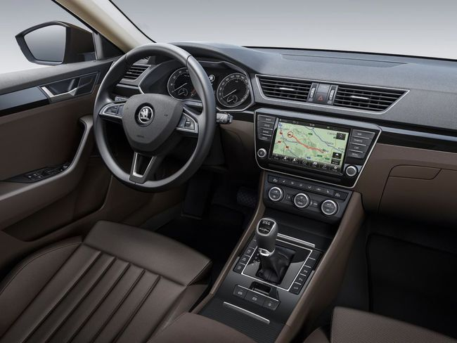 Skoda Superb III 2015 interior 01