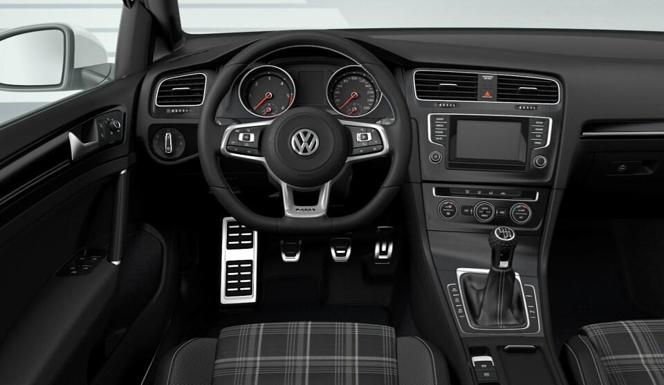 Volkswagen golf gtd variant para los que lo quieren todo for Interior golf variant