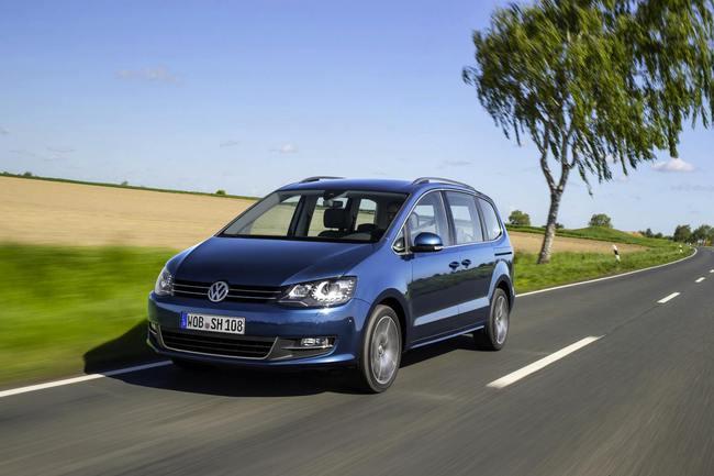 Volkswagen Sharan 2015 dinamica