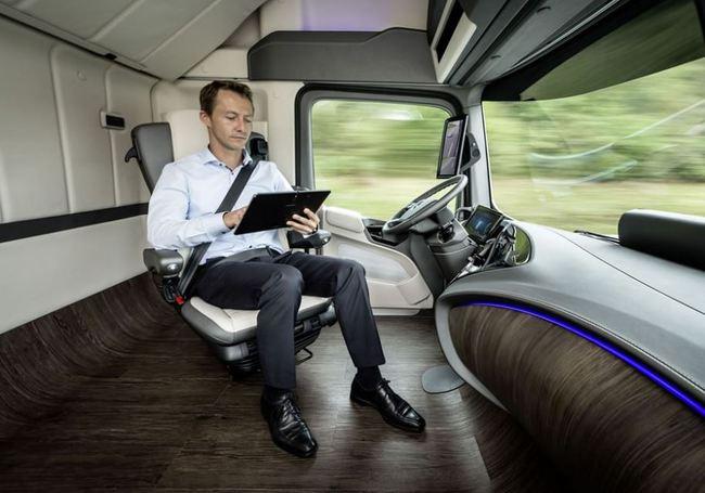asiento interior Mercedes Benz Truck