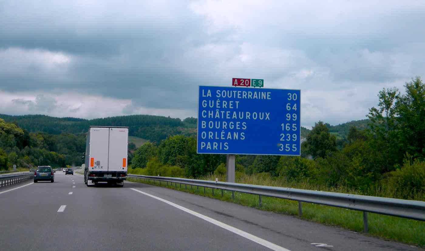 autopista Francia