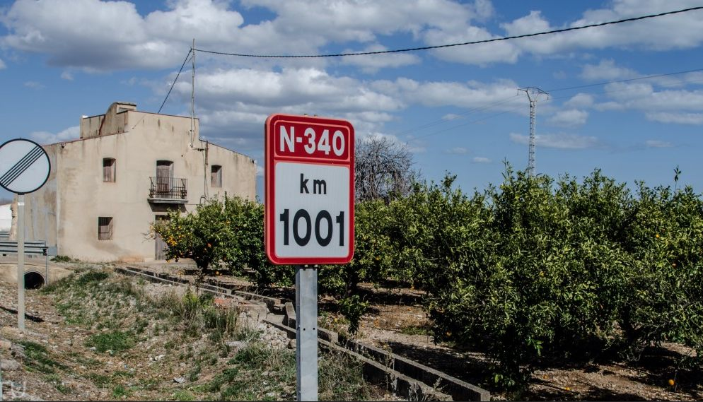 carretera N-340 km 1001