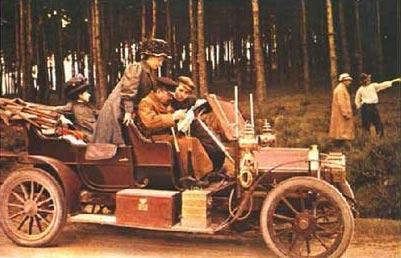 Peugeot. Fotografía con Autochrome. 1907