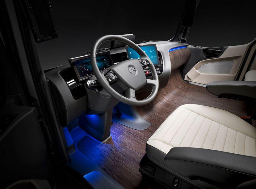 interior asiento Mercedes Benz Truck