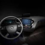 interior camión Mercedes Benz 2025