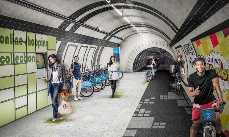 reutilizar túneles viejos por carriles bici