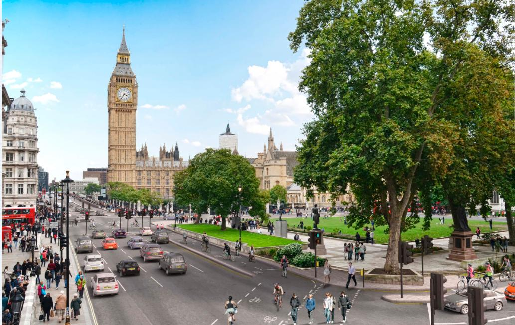 proyecto carril bici Londres 04
