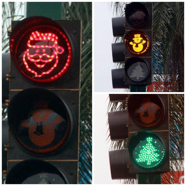 semaforo navidad mejico