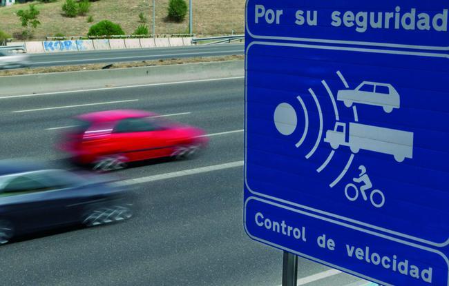 señal radar fijo