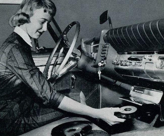 primeros tocadiscos coches antiguos