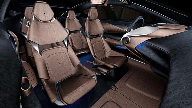 Aston Martin DBX Concept 2015 interior 02