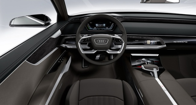 Audi Prologue Avant Concept 2015 interior 01