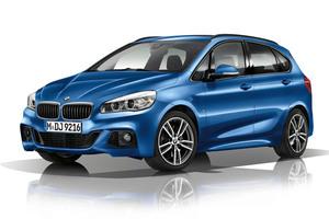Así luce el BMW Serie 2 Gran Tourer con paquete M Sport