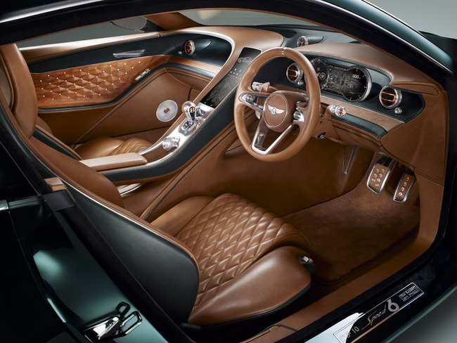 Bentley EXP 10 Speed 6 Concept 2015 interior 01