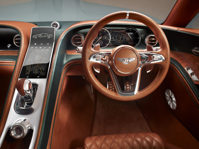 Bentley EXP 10 Speed 6 Concept 2015 interior 03