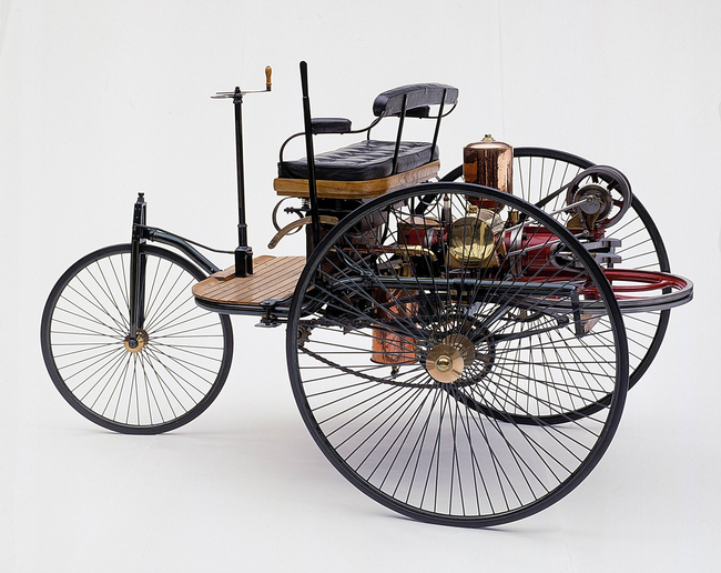 primer vehículo 1886
