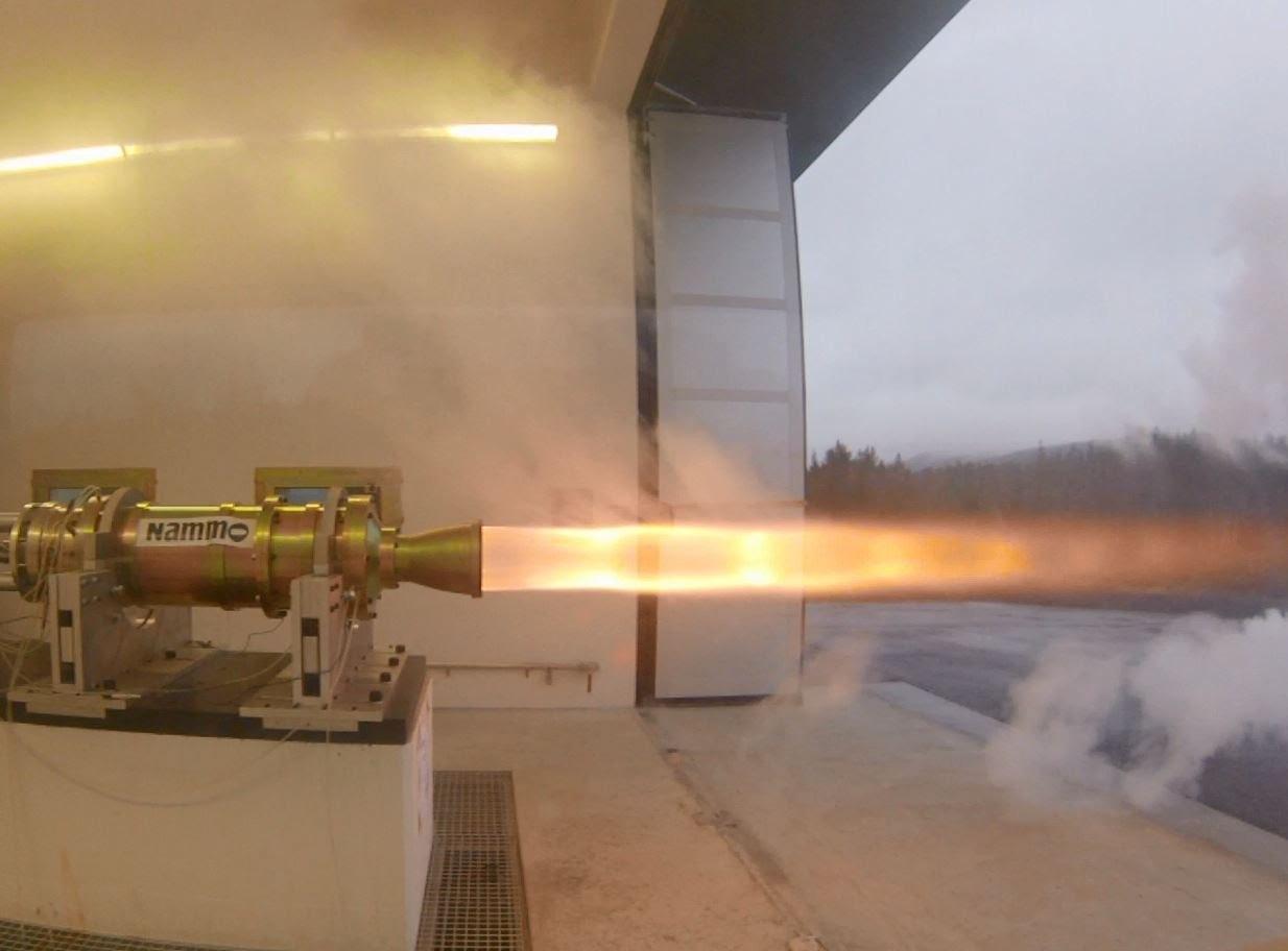 Bloodhound SSC cohete hibrido