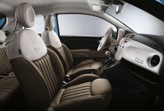 Fiat 500 Vintage ´57 2015 interior 01