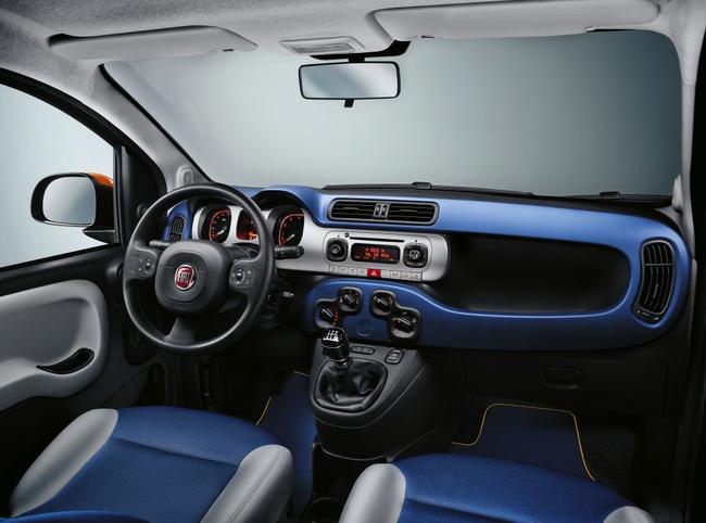 Fiat Panda K-Way 2015 interior 01