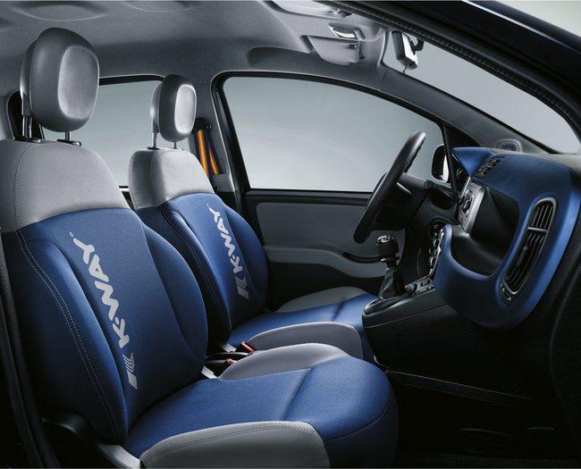 Fiat Panda K-Way 2015 interior 03