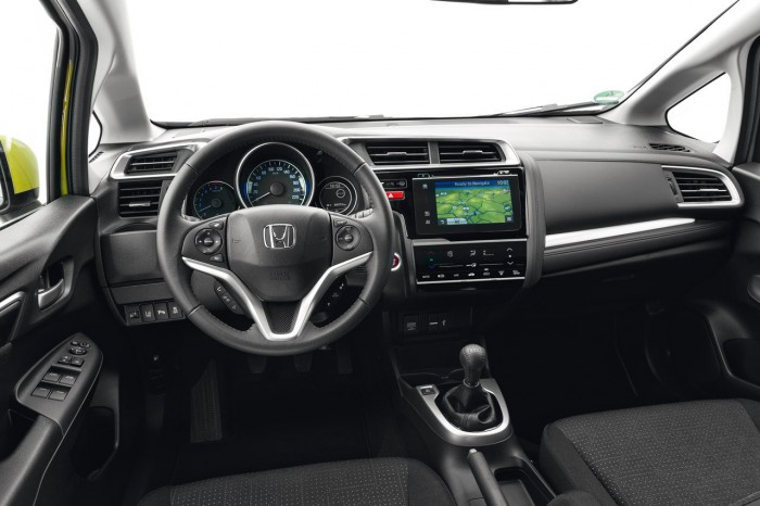 Honda Jazz 2015 interior 04