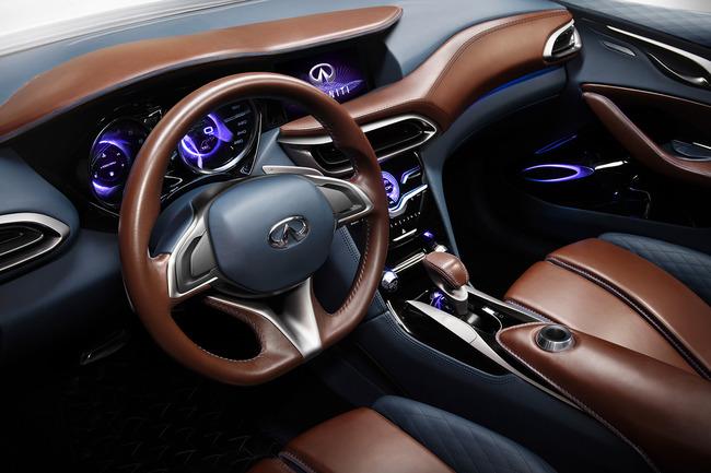 Infiniti QX30 Concept 2015 interior 02