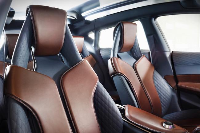 Infiniti QX30 Concept 2015 interior 03