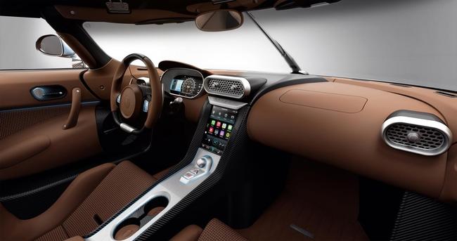 Koenigsegg Regera 2015 interior 01