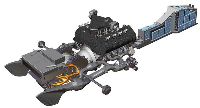Koenigsegg Regera 2015 sistema de propulsion