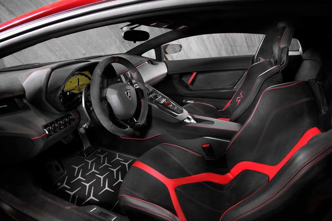 Lamborghini Aventador LP 750-4 Superveloce 2015 interior 01