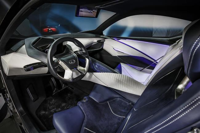 Lexus LF-SA Concept 2015 interior 02