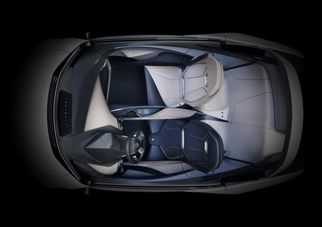 Lexus LF-SA Concept 2015 interior 03