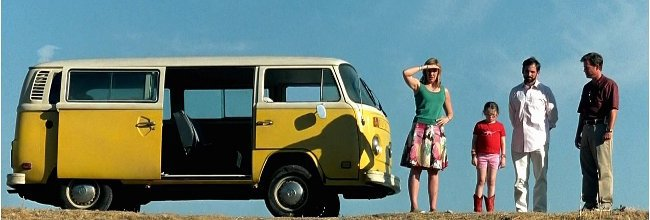 Little Miss Sunshine VW Combi