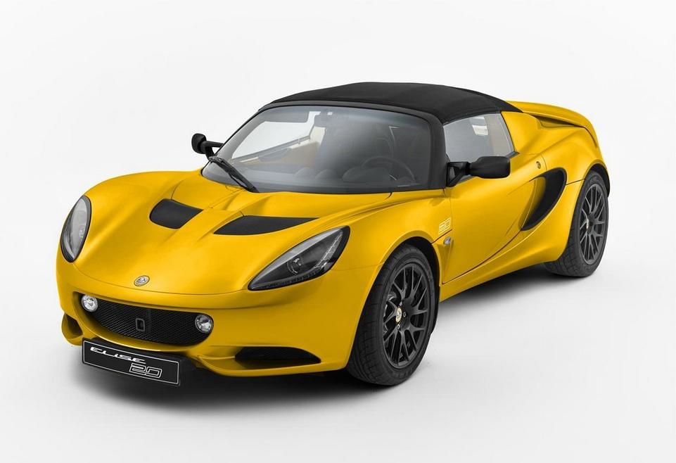 Lotus Elise Edición 20 Aniversario 2015