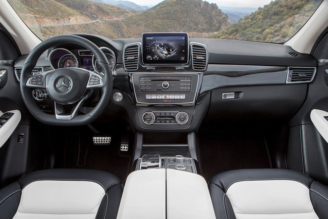 Mercedes GL 2015 interior 11