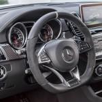 Mercedes GLE 63 AMG 2015 interior 02