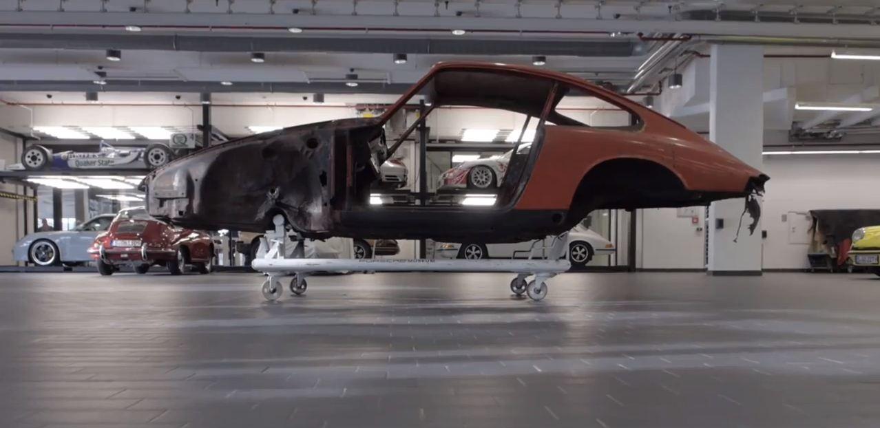 Porsche 911 restauracion