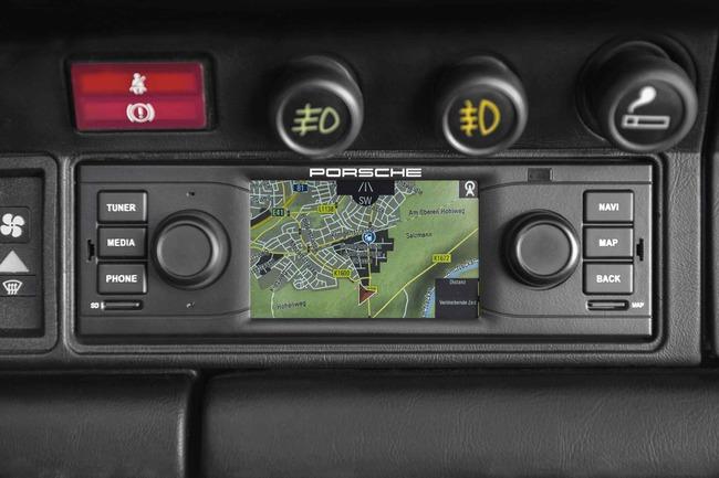 Porsche Classic navegador integrado 02