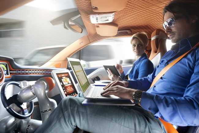 Rinspeed Bulli Concept 2015 interior 01
