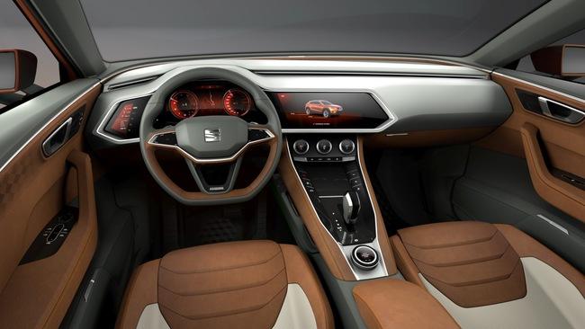 Seat 20v20 Concept 2015 interior 01