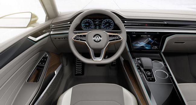 Volkswagen Sport Coupé Concept GTE 2015 interior 01