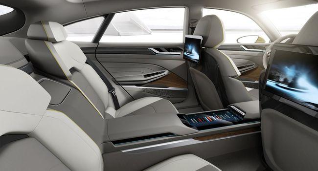 Volkswagen Sport Coupé Concept GTE 2015 interior 04