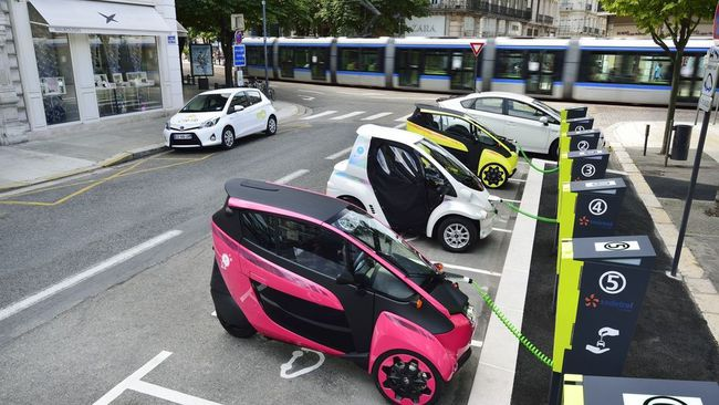 coches electricos en japon