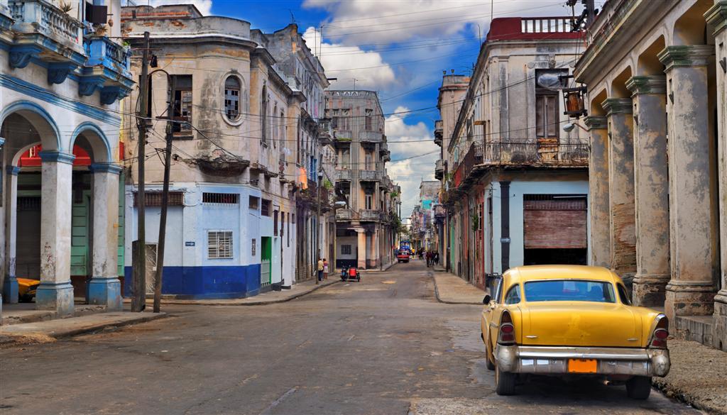 Los taxis de la habana for Cuba motors el paso
