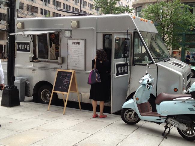 pepe food truck