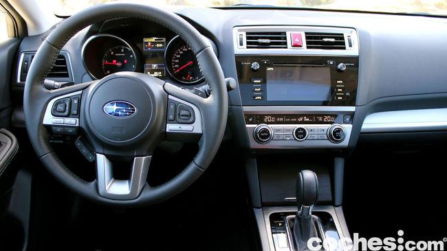prueba Subaru Outback 2015 interior     14