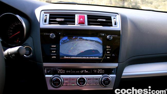 prueba Subaru Outback 2015 interior     28